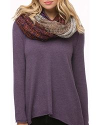 Subtle Luxury - Multi Patch Infinity Scarf - Lyst