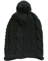 Subtle Luxury - Cable Knit Infinity Scarf & Hat Set - Lyst