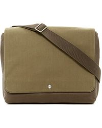 Skagen - Eric Coated Twill Messenger Bag - Lyst