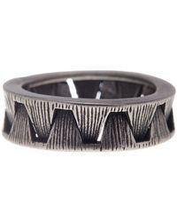 Steve Madden - Interlocking Ring - Lyst
