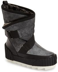 United Nude - Water Resistant Faux Fur Snow Boot (women) - Lyst
