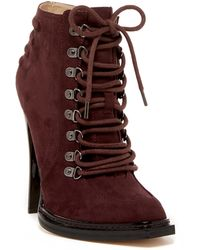 Gx By Gwen Stefani - Teardrop Lace-up Bootie - Lyst