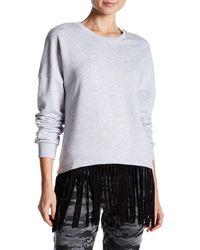 Spenglish - Fringe Sweatshirt - Lyst