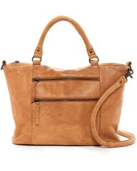 Cut N' Paste - Essex Leather Satchel - Lyst