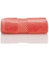 BOSS - Classic Wash Towel - Deep Sea Coral - Lyst