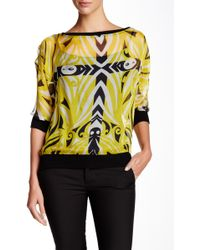 Analili - Off-the-shoulder Silk Blouse - Lyst