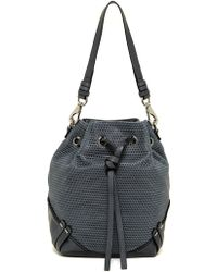 She + Lo - Silver Linings Drawstring Hobo - Lyst