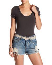 Lamade - Twist Sleeve Bodysuit - Lyst
