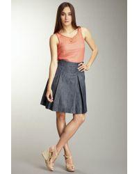Level 99 - Darla Pleated Skirt - Lyst