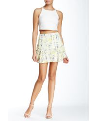 Townsen - Rainforest Printed Skirt - Lyst