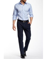 Thomas Dean - Cotton Stretch Trouser - Lyst