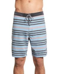 Katin - Chalk Stripe Board Shorts - Lyst