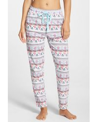 Cozy Zoe - Pizza & Donut Print Trousers - Lyst