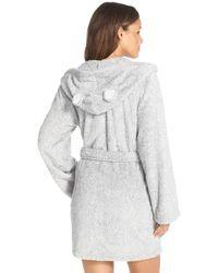Cozy Zoe - Animal Ear Hooded Robe - Lyst