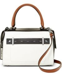 Via Spiga - Ines Leather Satchel - Lyst