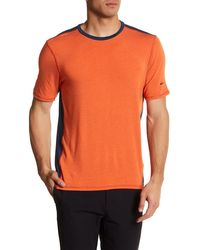 Revo - Two-tone Luxe Tee - Lyst