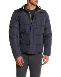 Revo - Detachable Sleeve Puffer Jacket - Lyst