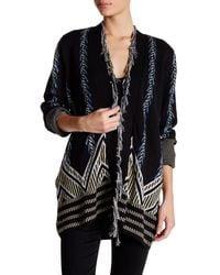 Gypsy 05 - Intarsia Knit Cardigan - Lyst