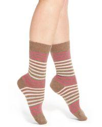Pantherella - 'kyra' Cashmere Blend Crew Socks - Lyst