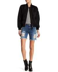 Siwy - Kate Distressed Short - Lyst