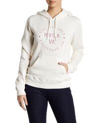 RVCA - Balance Circle Fleece Lined Sweatshirt - Lyst