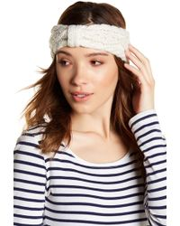 Joe Fresh - Cable Knit Headband - Lyst