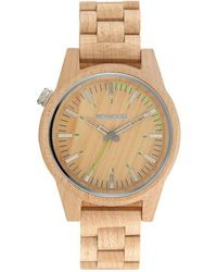 WeWood - Paar 46 Beige Women's Wood Watch - Lyst