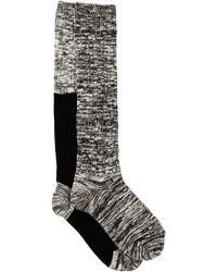Weatherproof - Colour Block Knee High Socks - Pack Of 2 - Lyst