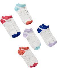 Joe Fresh - Ankle Socks - Pack Of 5 - Lyst