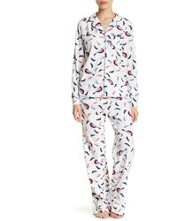 Joe Fresh - Micro Pajama Set - Lyst