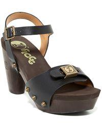Flogg - Fantastic Iii Platform Sandal - Lyst