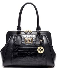 CXL by Christian Lacroix | Peyton Reptile Embossed Satchel | Lyst