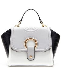 CXL by Christian Lacroix - Alayna Reptile Embossed Mini Satchel - Lyst