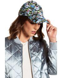 Roffe Accessories - Floral Baseball Cap - Lyst
