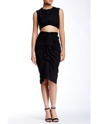 Do+Be Collection | Ruched Crop Skirt | Lyst