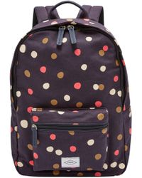 Fossil - Ella Canvas Backpack - Lyst