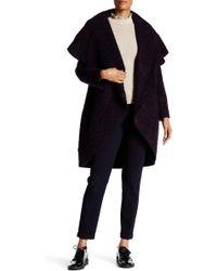 Zac Zac Posen - Camilla Oversized Collar Hooded Coat - Lyst