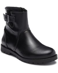 Birkenstock - Stowe Leather Moto Boot - Discontinued - Lyst