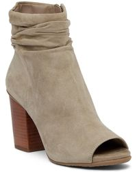 Kenneth Cole Reaction - Frida Cool Peep Toe Bootie - Lyst