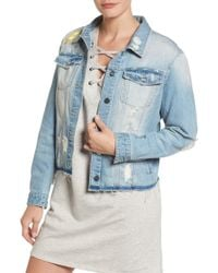 Sanctuary - Milkyway Walker Denim Jacket (petite) - Lyst