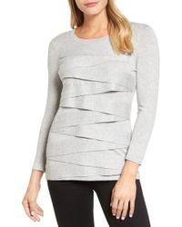 Vince Camuto | Zigzag Sweater | Lyst