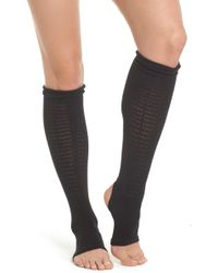 Yummie By Heather Thomson - Stirrup Leg Warmers - Lyst