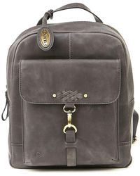 Born - Glendale Leather Backpack - Lyst