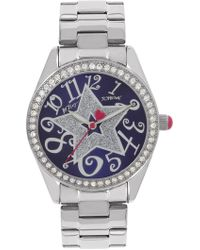 Betsey Johnson - Women's Purple Star Watch, 40mm - Lyst