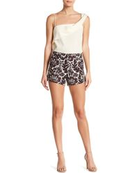 Trina Turk - Corbin Printed Shorts - Lyst