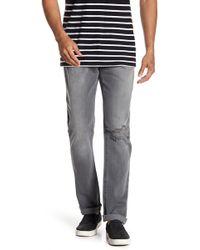 FRAME - L'homme Distressed Slim Fit Jeans - Lyst
