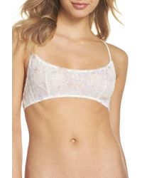 Free People - So Into You Bralette - Lyst