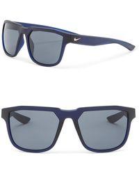 Nike - Men's Fly 57mm Square Sunglasses - Lyst