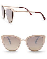 Quay - Super Girl 51mm Cat Eye Sunglasses - Lyst