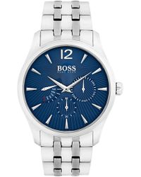 BOSS - Men's Commander Multifunction Bracelet Watch, 41mm - Lyst